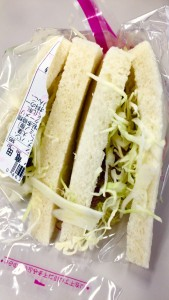 サンドイッチのメルヘン