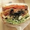 代々木上原のPOTASTA(ポタスタ)のサンドイッチは、野菜ぎっしりでボリューミー