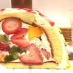 新宿駅南口に果実園リーベルがオープン!駅近広々とした店内でフルーツたっぷりのズコット