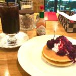 有楽町|珈琲館 紅鹿舎(べにしか)で元祖ピザトースト…ではなく、懐かしのホットケーキセット