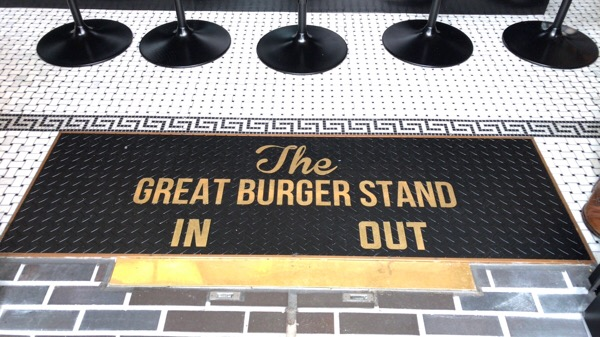 THE GREAT BURGER STAND