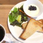 京橋エドグラン | 3階にあるミカフェートは広くて開放感のあるカフェ