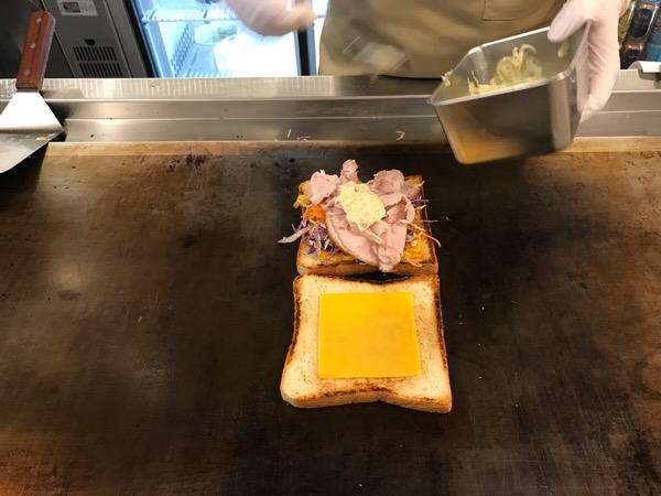 トーストサンドイッチバンブー